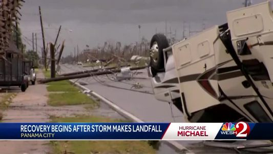 Recovery begins after storm makes landfall