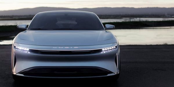 Saudi Arabia's reportedly looking to invest in Tesla competitor Lucid - we took its 1,000-horsepower electric luxury sedan for a spin