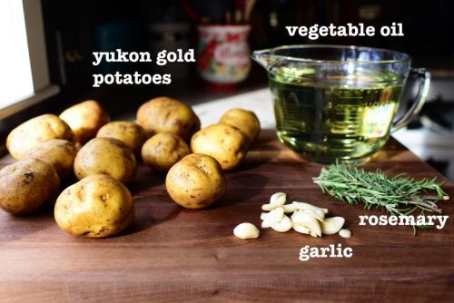 Rosemary Garlic Fried Potatoes by The Pioneer Woman