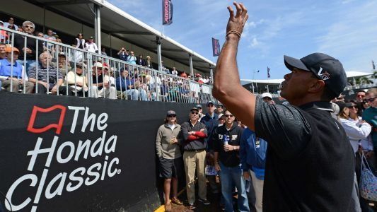 Live updates from Tiger Woods' Round 1 at the Honda Classic