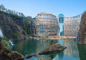 Shanghai launches world's first 'quarry hotel'