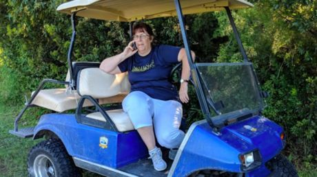 White woman calls cops on black man cheering son's soccer game, goes viral as 'Golfcart Gail'
