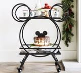 Make Some Room, Disney Fans: This Mickey Bar Cart Is Ready to Roll Into Your Home
