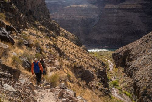 Hiking in the Grand Canyon Where Few People Can Go