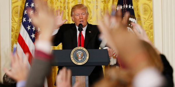 Trump told '60 Minutes' reporter that he attacks media to 'discredit' reporters 'so no one will believe' negative stories about him