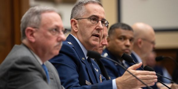 There are 'thousands' of decisions to make about the new Space Force, but the military's 2nd-highest-ranking officer already knows the 'perfect partner'