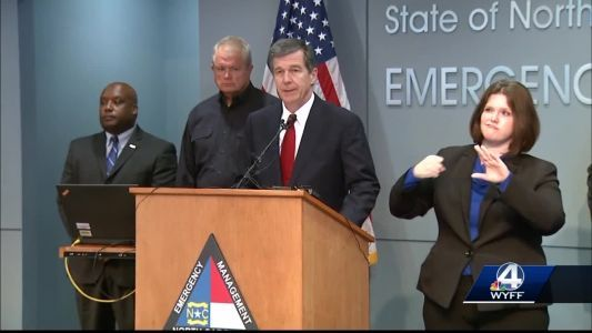 Gov. Roy Cooper talks about Hurricane Florence preparations
