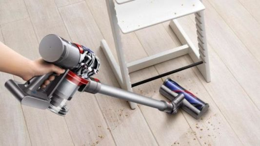Cut the Cord on Cleaning: Dyson's V7 Fluffy HEPA Cordless Vacuum Is Down to $200 at Newegg