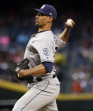 Padres' Ross loses no-hit bid with 2 outs in 8th vs D-backs