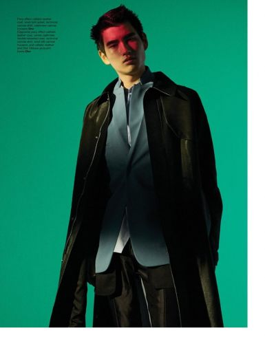 Kohei Dons Dior Men for Manifesto Cover Story