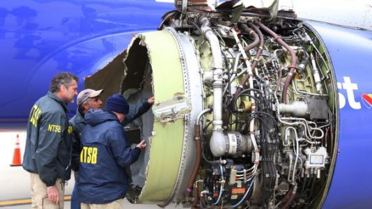 FAA Orders Inspections Of Engine Type That Blew Apart On Southwest Flight