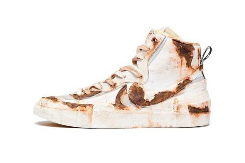 "Principe Privé's ""Rusted"" sacai x Nike Blazer Will Run You over $1,110 USD"