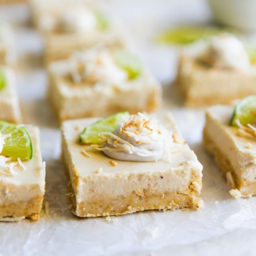 Coconut Key Lime Pie Bars