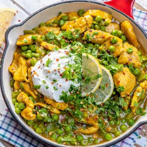 Healthy Green Chicken Curry