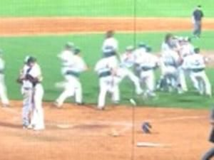 High school pitcher strikes out friend, consoles him