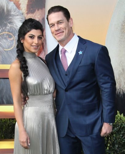 John Cena and Girlfriend Shay Shariatzadeh Spark Engagement Rumors After She's Spotted With a Ring on *That* Finger
