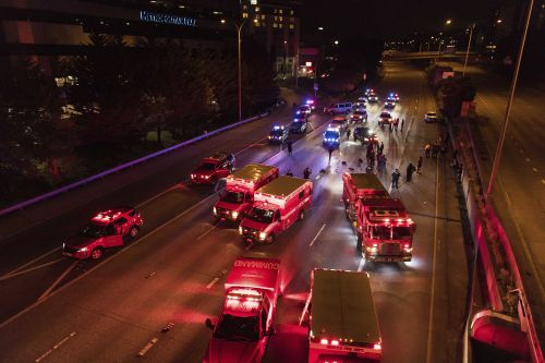 Police: 2 women hit by car on Seattle highway amid protest