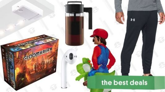 Monday's Best Deals: Gloomhaven, Luminoodle Click, AirPods, and More