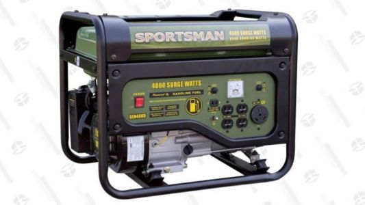 Get Ready For Tailgating Season With This $250, 4,000W Generator