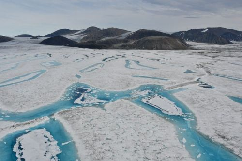 Canada's last fully intact ice shelf has suddenly collapsed, forming a Manhattan-sized iceberg