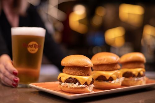 Hard Rock Cafe Throws The Ultimate Football Party For The Big Game