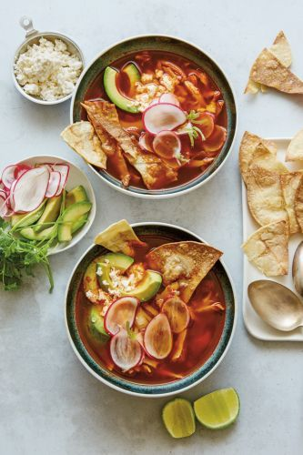 Chicken, Tortilla and Lime Soup