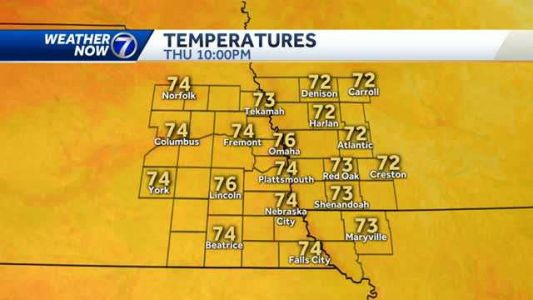 Beautiful Thursday with more heat and humidity this weekend
