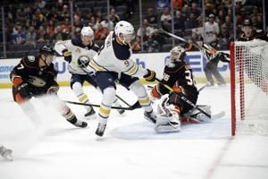 Henrique scores twice as Anaheim rallies to beat Buffalo 5-2