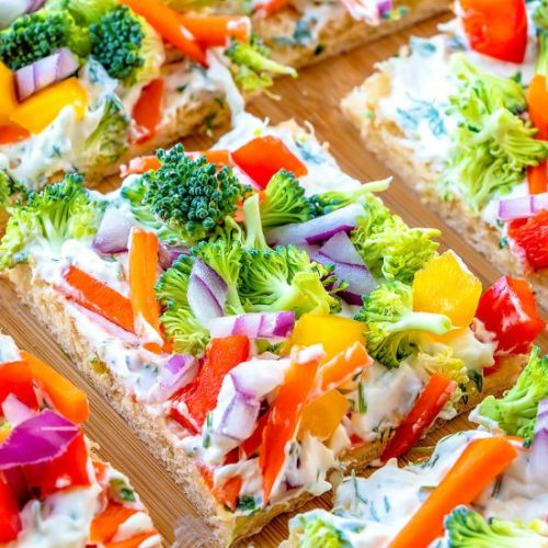 Crescent Roll Pizza Appetizer
