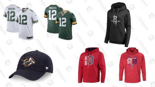 While You're Still Delusional About Your Team's Chances, Grab 25% Off Apparel At Fans Edge