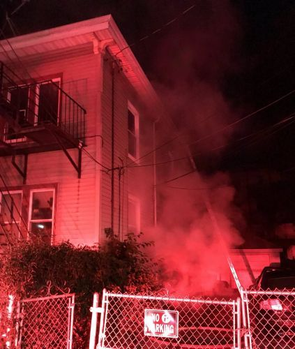 1 resident injured in early-morning fire in Boston