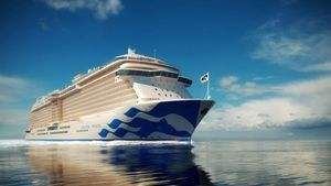 Princess Cruises announced the leave of its fleet