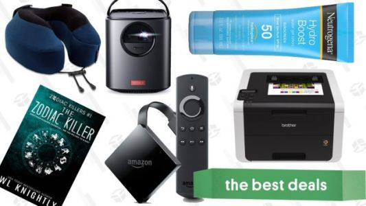 Saturday's Best Deals: Color Laser Printer, Portable Projectors, 4K Fire TV, and More