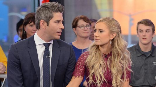 Arie Luyendyk And Lauren Burnham Clap Back At Troll Who Said Their Baby Is An 'Oops'
