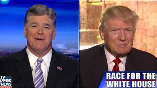 Fox star Sean Hannity is one of Donald Trump's fiercest defenders - here's how he and the president became close