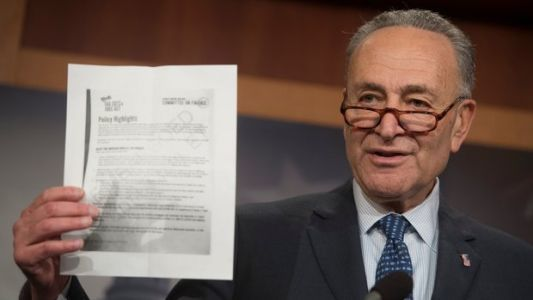 Chuck Schumer Warns Moderate Democrats Of The Perils Of Voting For GOP Tax Bill