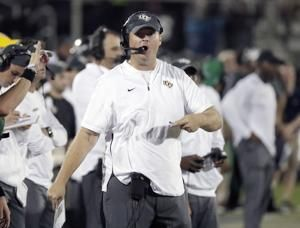 No. 10 UCF visits East Carolina, looks for 20th straight win