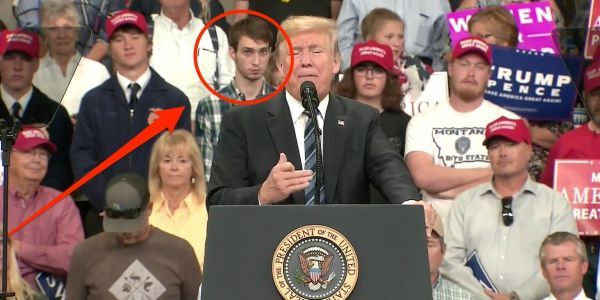 'I had to be honest in my views': 'Plaid shirt guy' at Trump's rally in Montana says he didn't expect his facial expressions to be a viral hit