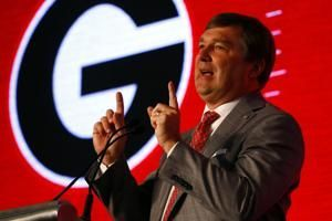 The Latest: Smart 'well aware' of challenge to beat Saban