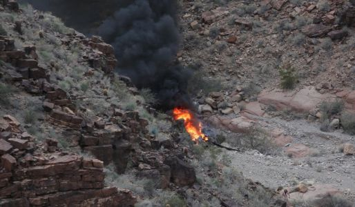 Grand Canyon helicopter crash victim dies, bringing death toll to 4