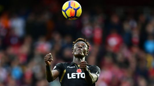 Tammy Abraham injured in Swansea's loss to Burnley