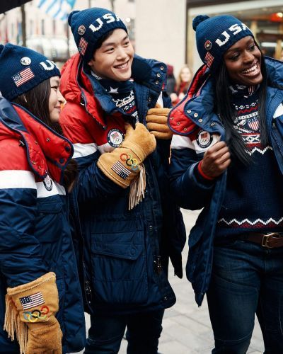 Get a first look at Team USA's Official 2018 Olympic uniforms