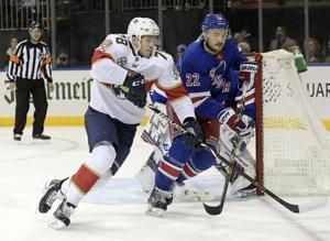 Lundqvist helps Rangers beat Panthers 4-2