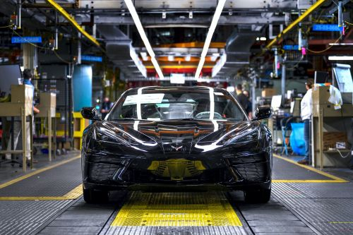 The first 2020 Chevrolet Corvette just rolled off the production line, marking a new and completely different generation of the car. Here's what makes it historic
