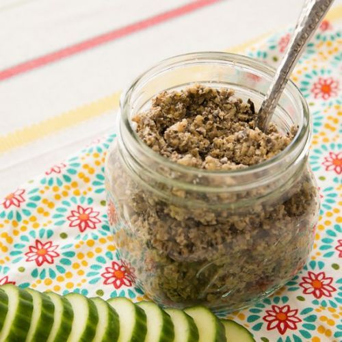 Walnut and Olive Tapenade