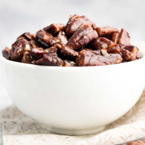 Ultimate Healthy Candied Pecans
