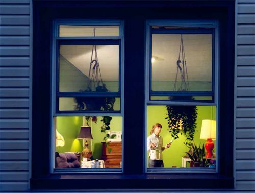 Over 80% of Brits look into a stranger's house if the curtains are open