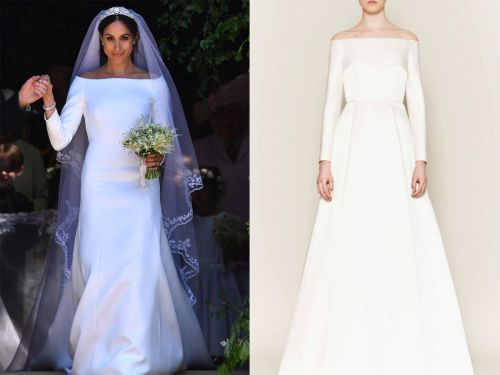 Kate Middleton's go-to designer shaded Meghan Markle's wedding dress and said it didn't fit her properly