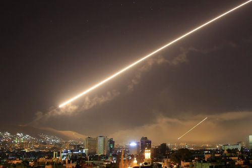 Syria says there was another missile attack on Monday, and Israel and the US are saying nothing