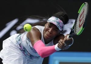 Game from quick exit, Venus Williams wins at Australian Open